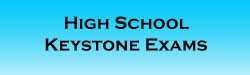 High School Keystone Exams