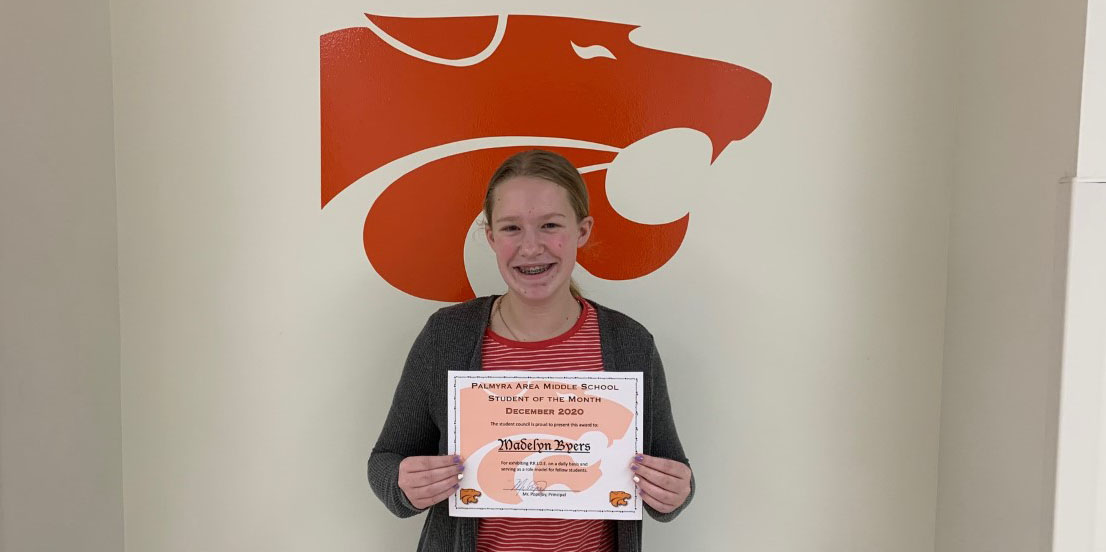 MS December Student of the Month