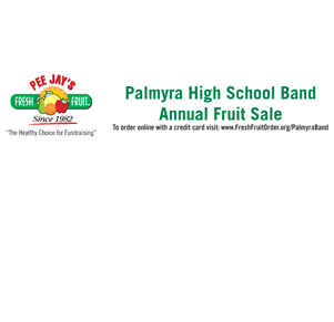 Select It's Band Fruit Time!! Support the PHS Marching Cougar Band!