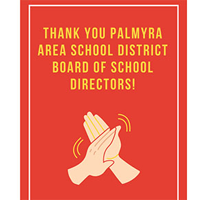 Select Thank you to our School Board Members!