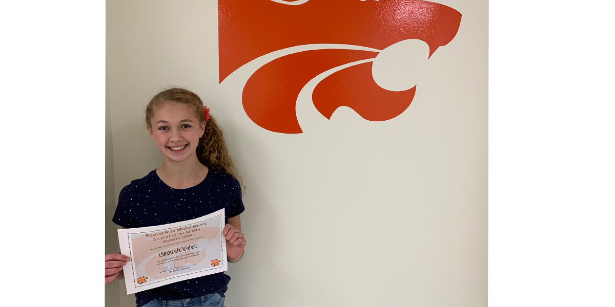 MS October Student of the Month