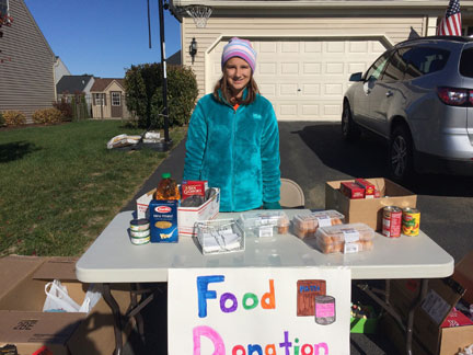 MS student helps others