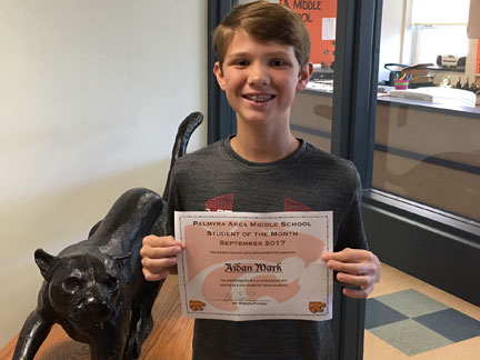 MS September Student of the Month