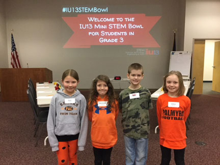 LEAP Students travel to IU13 for STEM bowl