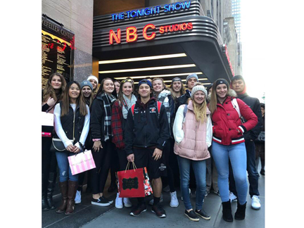 Cougar Media trip to NYC