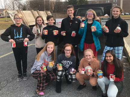 MS holds annual Can Drive for Caring Cupboard