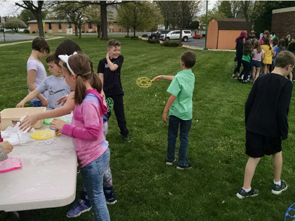 Pine Street celebrated Earth Day