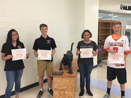MS Summer Students of the Month