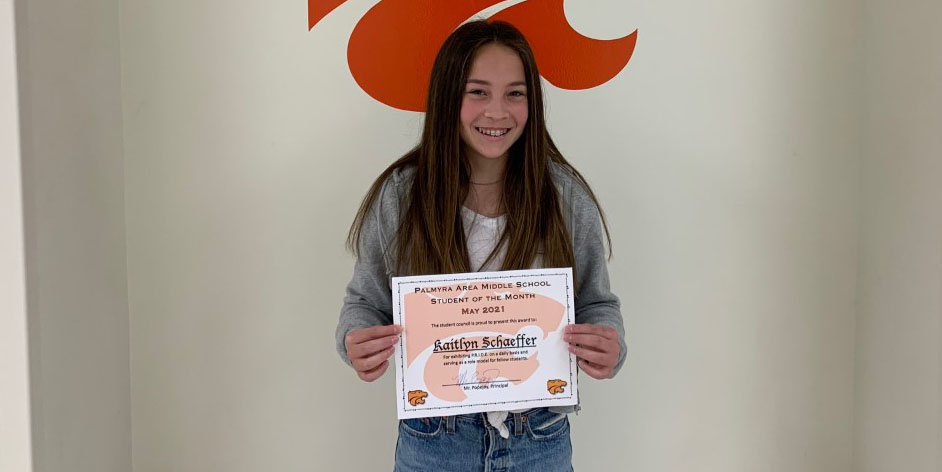 MS May Student of the Month