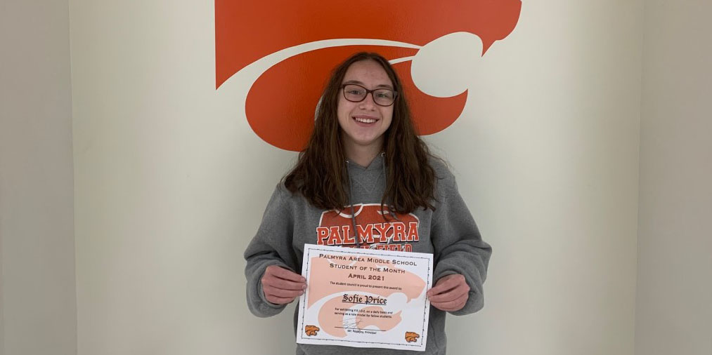 MS April Student of the Month