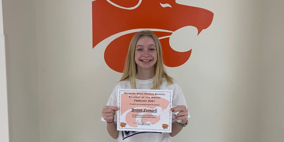 MS February Student of the Month
