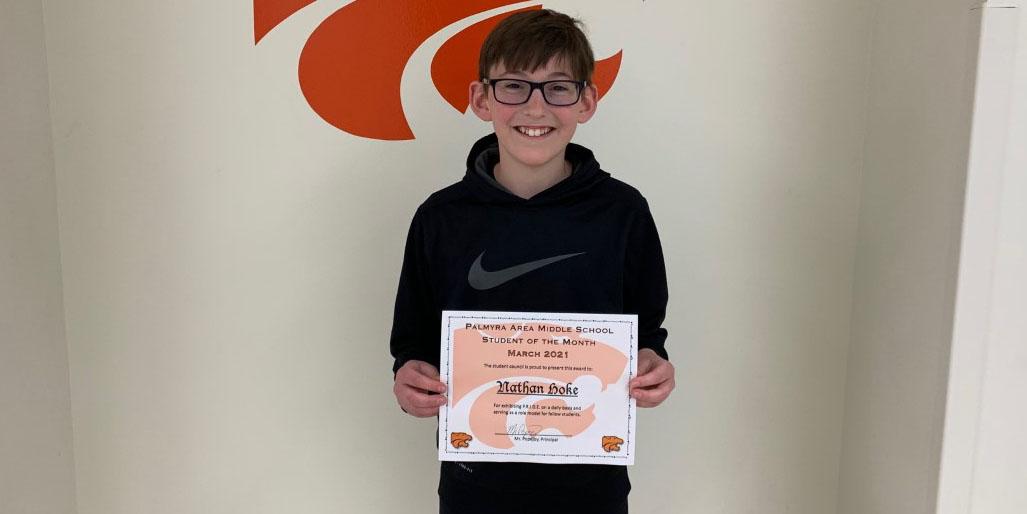 MS March Student of the Month