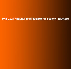Select PHS 2021 National Technical Honor Society Inductees