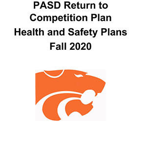 Select PASD Return to Competition Health and Safety Plans Fall 2020