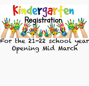 Select Kindergarten Registration Opening Soon