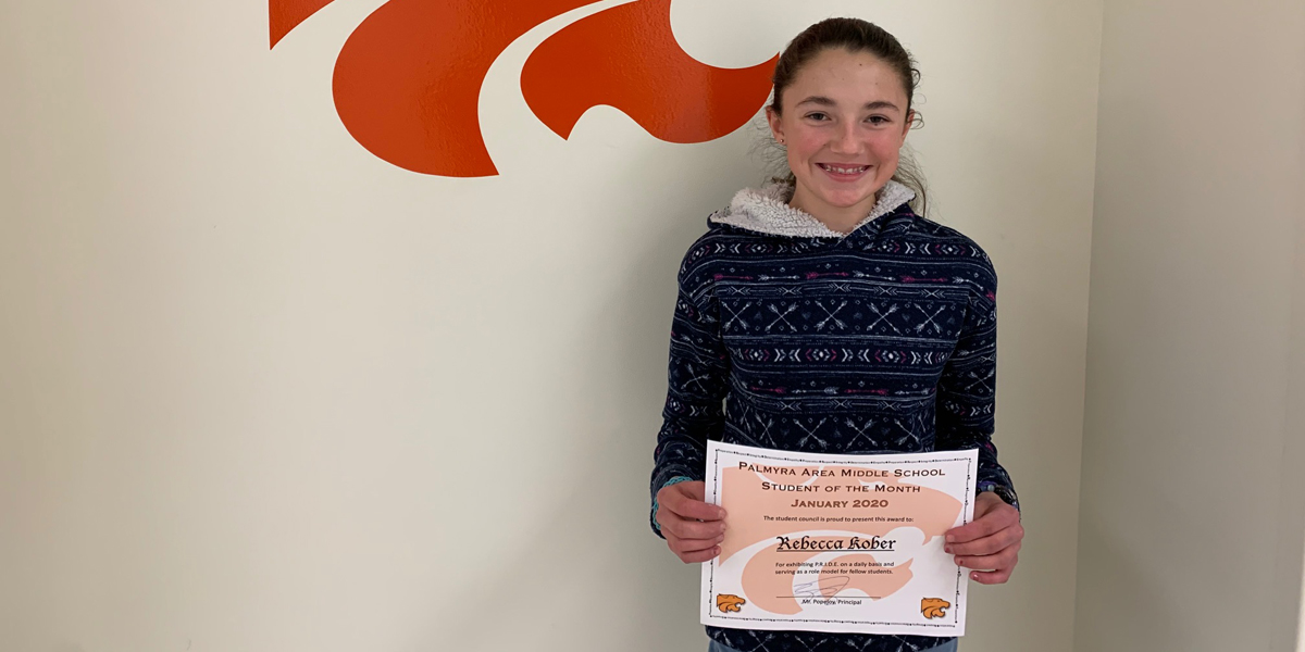 MS January Student of the Month